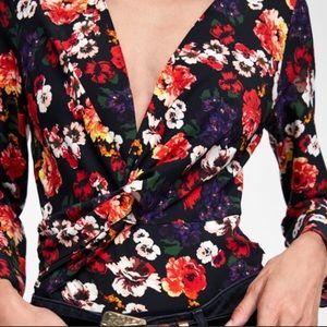 Zara flora body suit